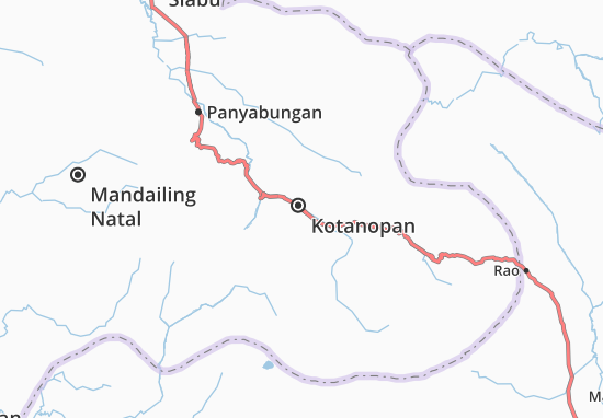 Kotanopan Map