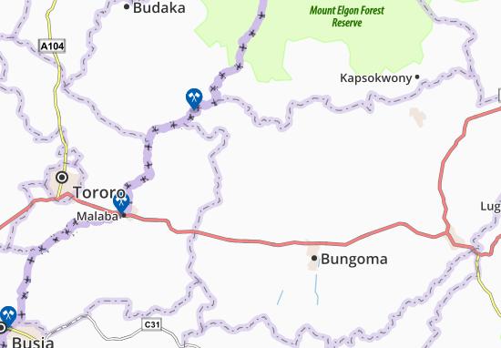 Bukokholo Map