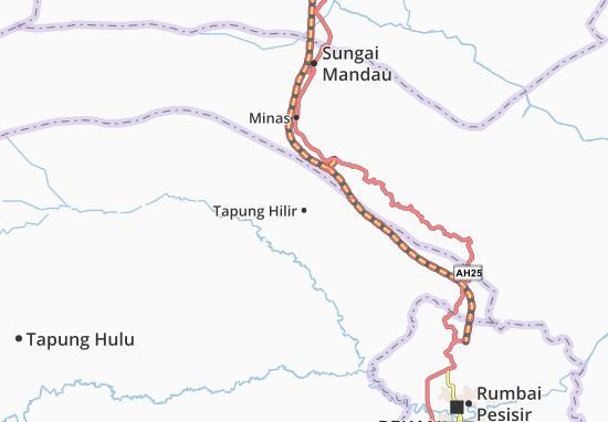 Mapas-Planos Tapung Hilir