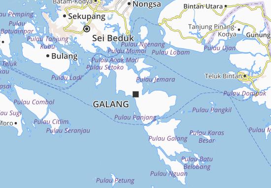Galang Map