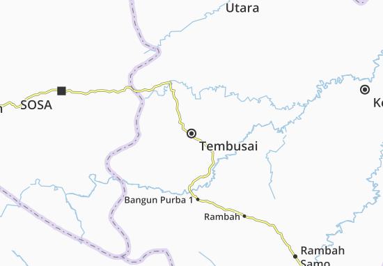 Tembusai Map