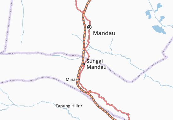 Mappe-Piantine Sungai Mandau