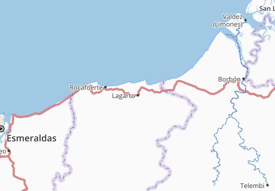 Lagarto Map