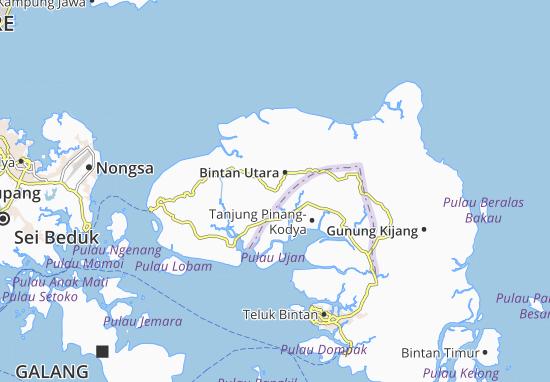 Mapas-Planos Bintan Utara