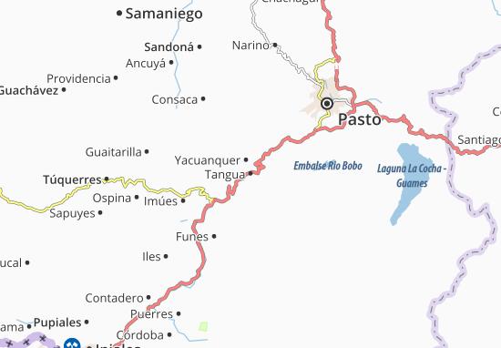Carte-Plan Tangua