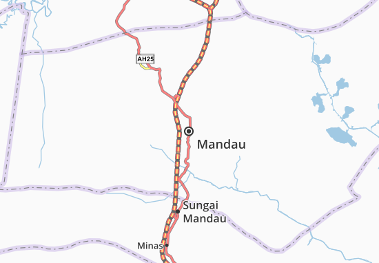 Mandau Map