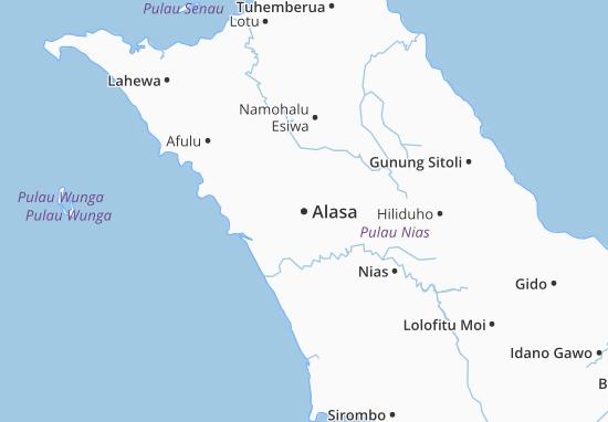Carte-Plan Alasa