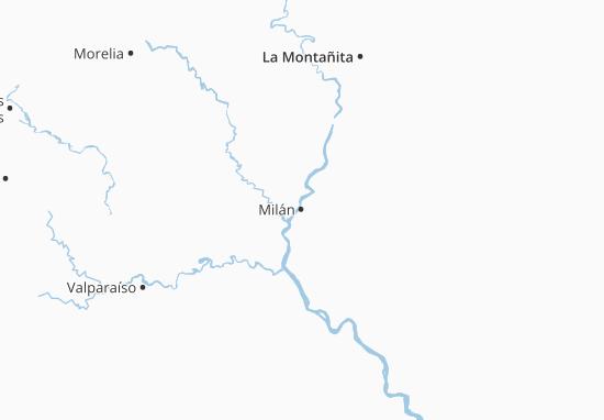 Milán Map