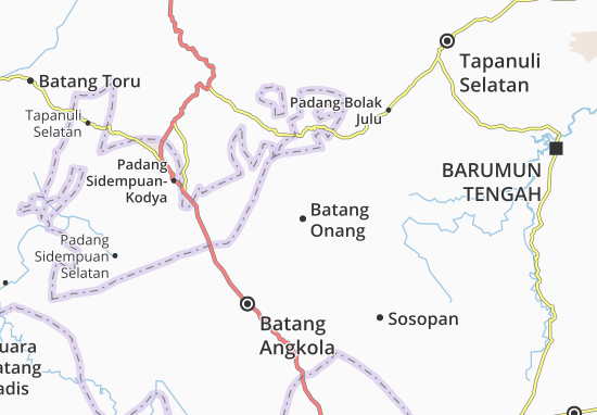 Batang Onang Map