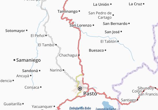 Carte-Plan Chachagui