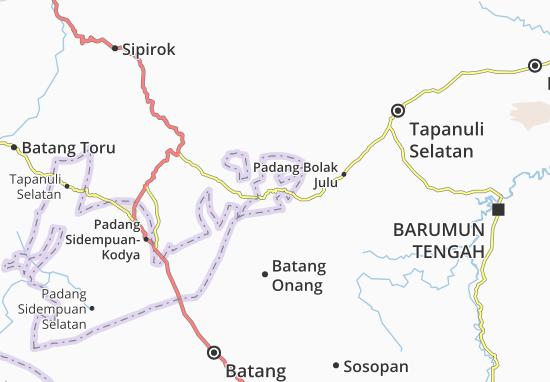 Carte-Plan Padang Sidempuan Tenggara