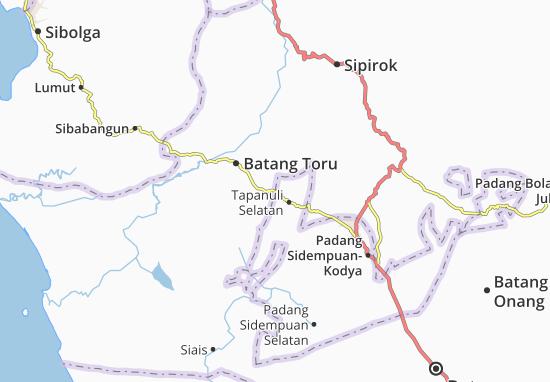 Padang Sidempuan Barat Map