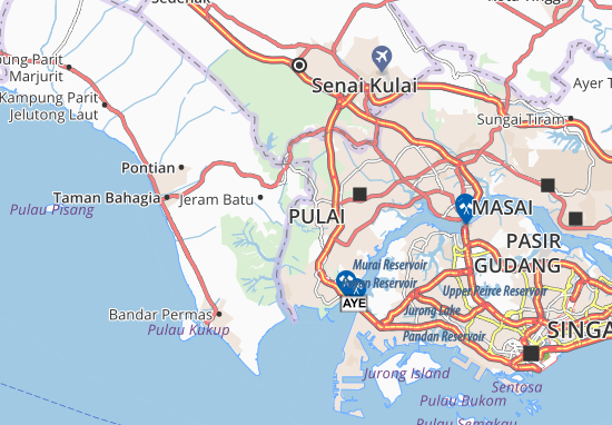 Jelutung Map