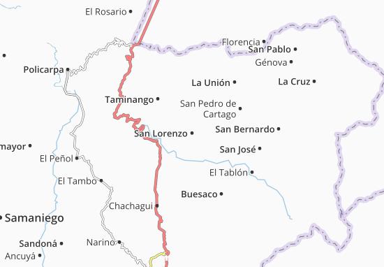 Carte-Plan San Lorenzo