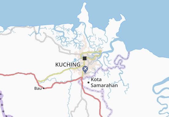 Kuching Map