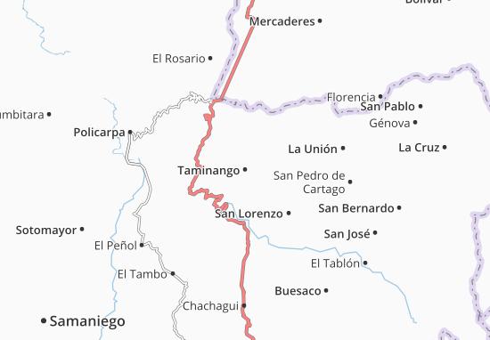 Carte-Plan Taminango
