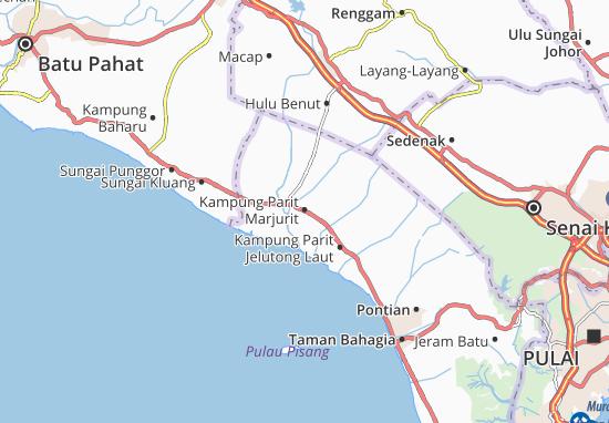 Mappe-Piantine Kampung Parit Marjurit