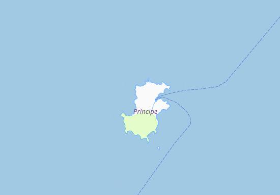 Carte-Plan Ponta do Sol