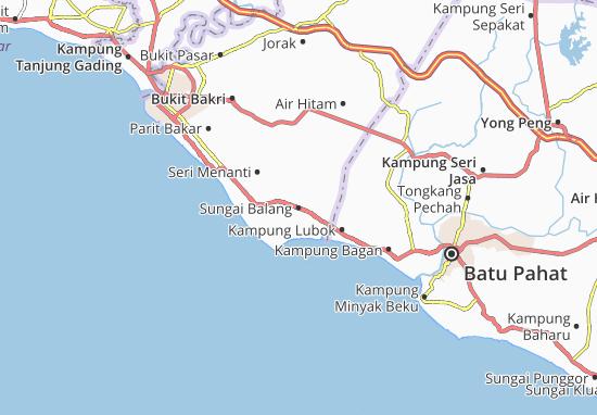 Mapas-Planos Sungai Balang