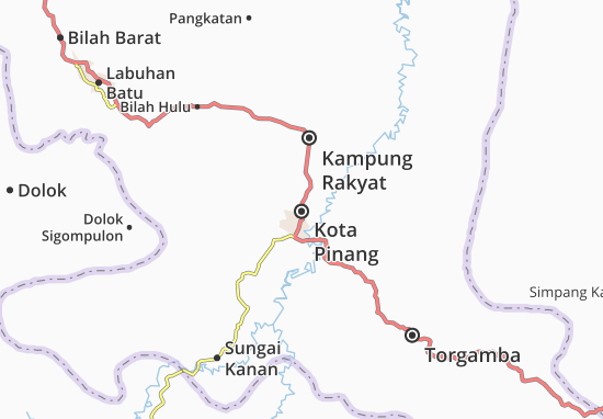 Kota Pinang Map