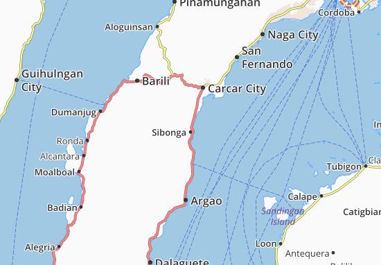 Mappe-Piantine Sibonga
