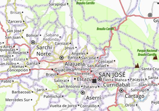 Mappe-Piantine San Pablo