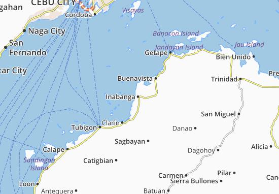 Mappe-Piantine Inabanga