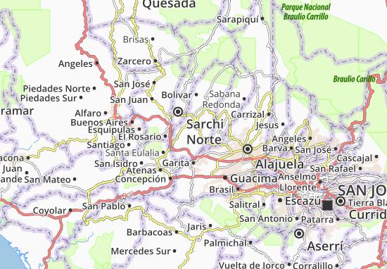 Puente de Piedra Map
