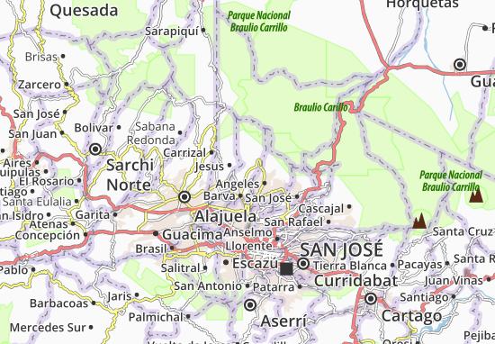 San José de La Montana Map: Detailed maps for the city of ...