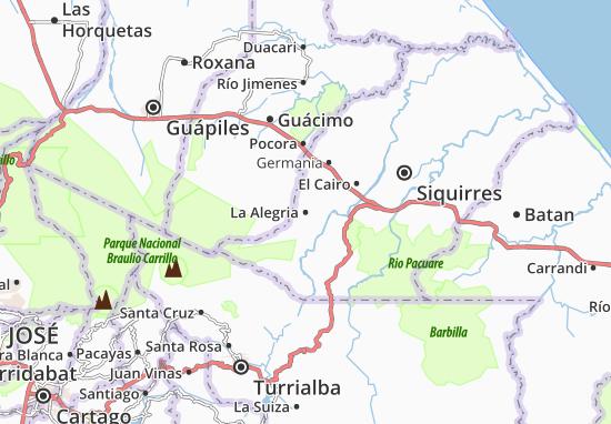 La Alegria Map