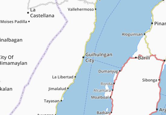 Mappe-Piantine Guihulngan City