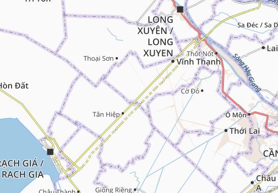 Thạnh An 2 Map