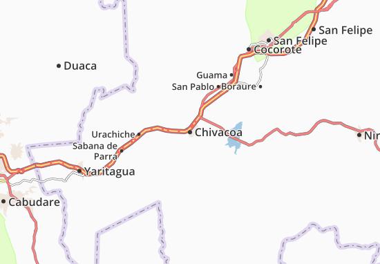 Carte-Plan Chivacoa