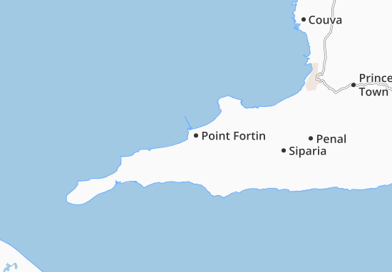 Carte-Plan Point Fortin