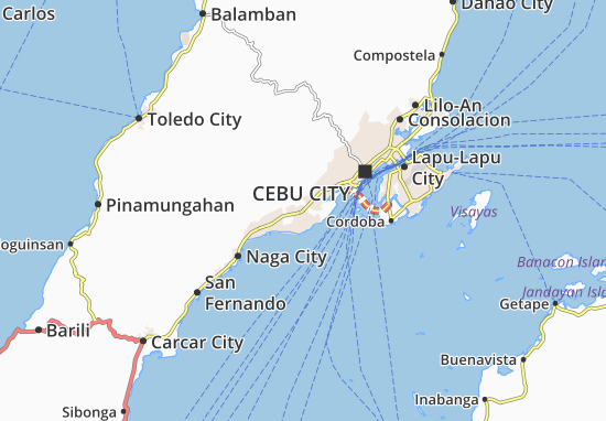 Mappe-Piantine Talisay City