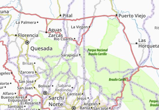 Mapas-Planos Sarapiquí