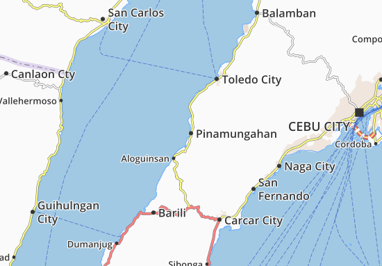 Pinamungahan Map