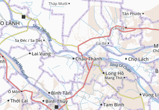 Carte-Plan Hòa Hưng