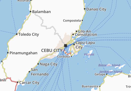 Mappe-Piantine Cebu City