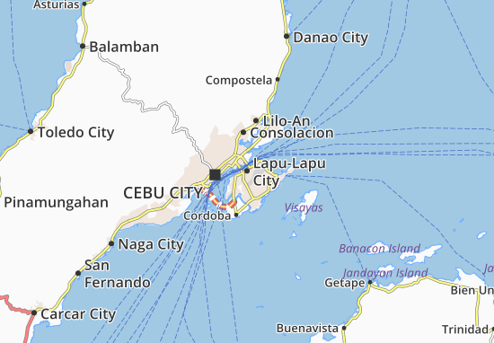 Mapa Lapu-Lapu City
