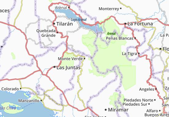 Mappe-Piantine Monte Verde