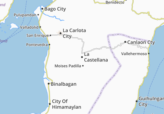 Mappe-Piantine La Castellana