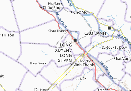 Carte-Plan Phú Hòa