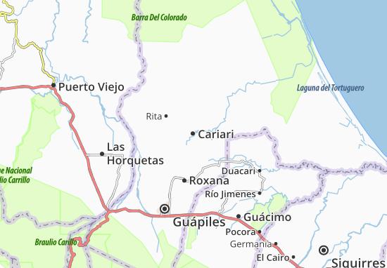 Mappe-Piantine Cariari