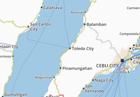 Toledo City Cebu Map Toledo City Map: Detailed maps for the city of Toledo City