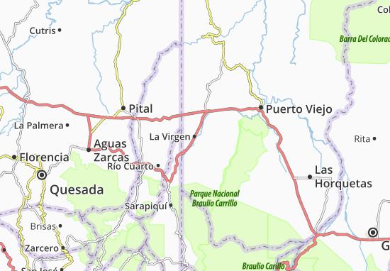 Mapas-Planos La Virgen