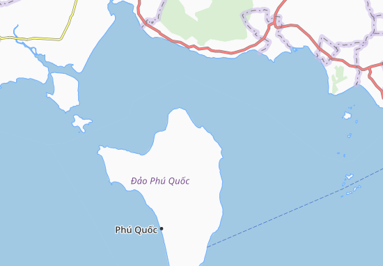 Mapas-Planos Bãi Thơm