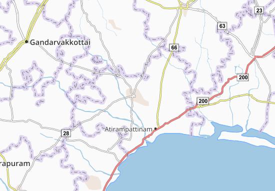 Mappe-Piantine Pattukkottai