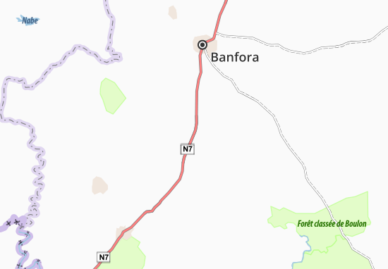 Diarabakoko Map