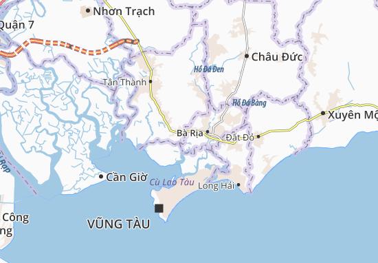 Carte-Plan Kim Dinh